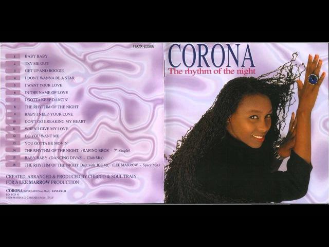 Corona - The Rhythm Of The Night (1995 Japan) (Full Allbum)