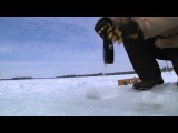 Ice Fishing with The Badger: Waterproof USB Solar Charger