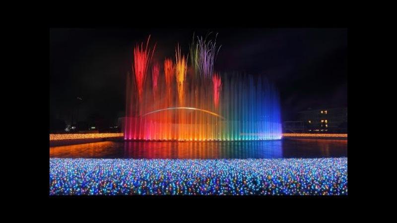2015 よみうりランド 「ラ・フォンテーヌ」 花火と噴水のコラボレーション
