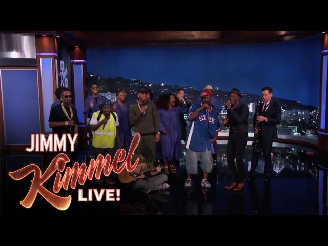 The Amazing Jam Session Guys feat. Trey Songz, Juicy J Aloe Blacc