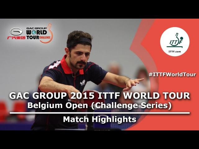 Belgium Open 2015 Highlights: ALAMIAN Nima vs SZOCS Hunor (FINAL)