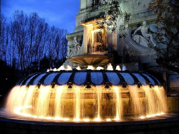 Ночной Мадрид, Испания