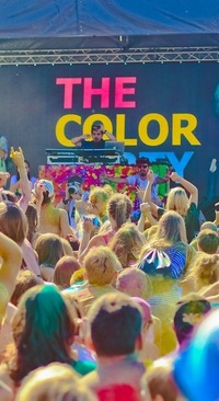 Фестиваль красок THE COLOR PARTY