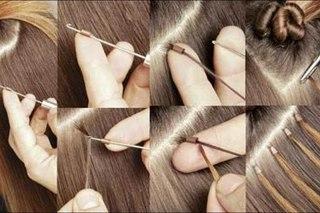 Наращивание волос в тюмени