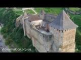 Появилось впечатляющее видео Хотинской крепости, снятое с дрона