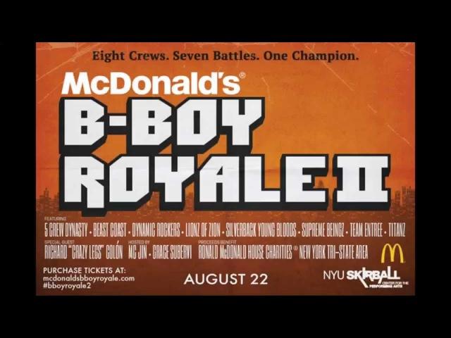 Mcdonald's B-Boy Royale 2   Crew Roster   BNC [BD_VIDEO]