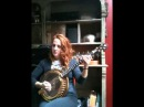 LISA CANNY playing reels on an EMERALD PARAGON GOLD banjo