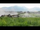 Стреляют САУ 2С19 Мста-С
