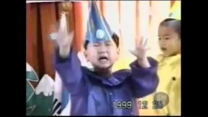 Asian boy dancing and crying 1