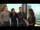 Robert Downey Jr 'Avengers' Cast Unleash 'Age of Ultron' Details Big Laughs at Comic Con