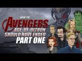 Как должен был закончиться фильм «Мстители: Эра Альтрона» | Часть 1