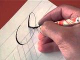 Hamid Ezra Ebrahimi: How To Write Copperplate - Letter Cc