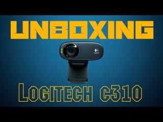 Logitech HD Webcam C310 Unboxing| Обзор веб камеры Logitech c310