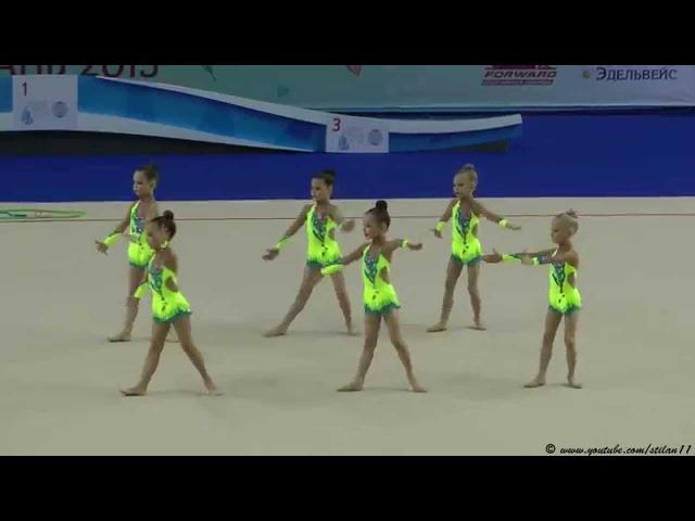 Худ. гимнастика. 31.03.2015. Olympico Baby Cup. г.Казань. Группа