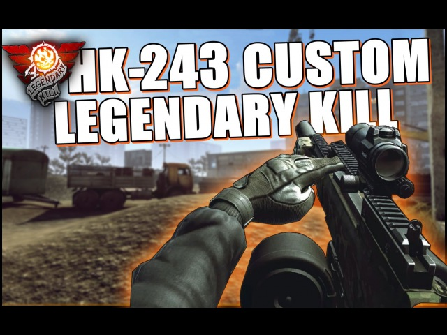 Contract Wars - HK-243 Custom LegendaryKill
