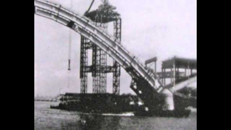 История рыбинского моста через Волгу
