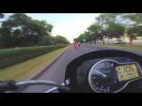 Moto ride suzuki gsr 750, yamaha r1, kawasaki zx6r (мото покатушки)