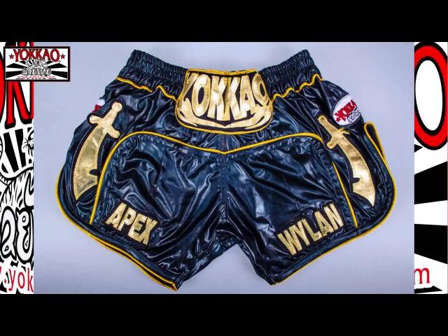 YOKKAO Muay Thai Custom Shorts Thailand - Muay Thai Shorts Bangkok