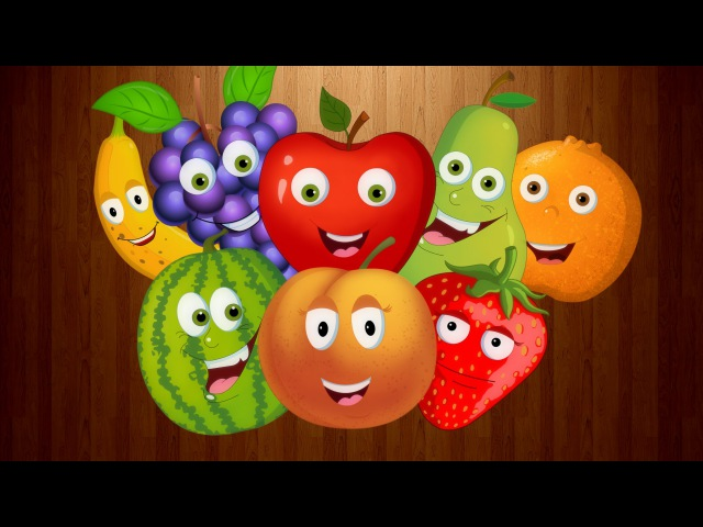 Fruits Song | English rhymes learning for kids | fruit songs for children | Preschool learning video