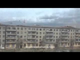 Сильный ветер в Атырау Казакстан