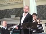 Countertenor Franco Fagioli aria from Semiramide by Nicola Porpora
