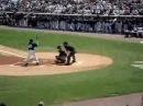 Billy Crystal batting at the NY Yankees Game in Tampa