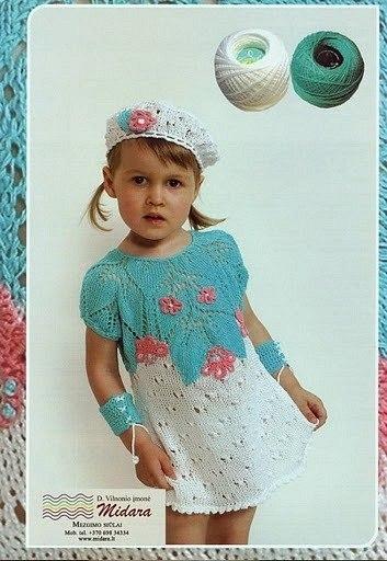 Нарядное платье для девочки (4 фото) - картинка