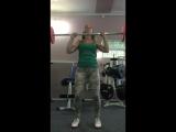 Алевтина Чугнеева. Упражнение на верхнюю часть тела .