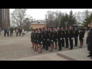 ВМЛ - Церемониальный отряд почётного караула 2015.