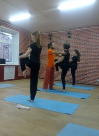 Йога в Типичном Питере
