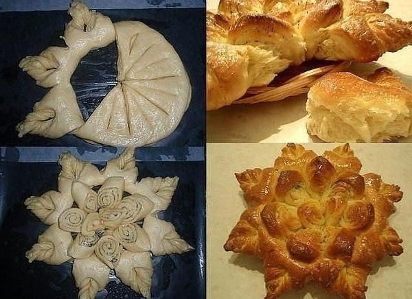 Разделка теста пирогов