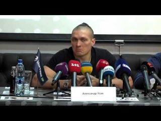 Інтерв'ю Олександра Усика про те, чому він не боїться їхати додому в Крим