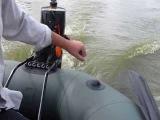 Испитание навесного транца на лодке Bark c двигателем Parsun 2.6