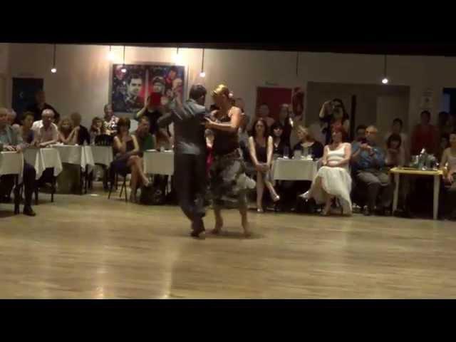 Alejandra Mantiñan y Martin Ojeda Tango En Tus Brazos De Angelis - Larroca (11-01-15)