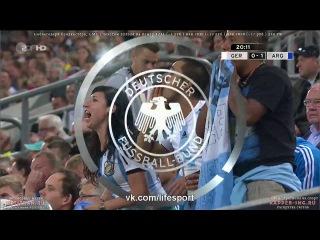 Германия 0:1 Аргентина   Гол Агуэро HD