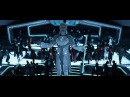 Tron: Legacy: Zuse Chapter - Fight and Elevator Fall Scenes (Derezzed and Fall) [HD]