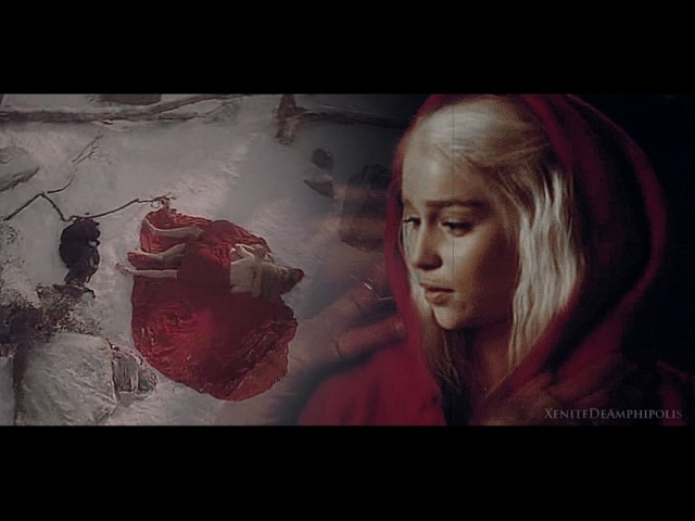 The wolf and the red riding hood ● JonDaenerys {AU}