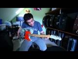 Евгений Хавтан о своей именной гитаре