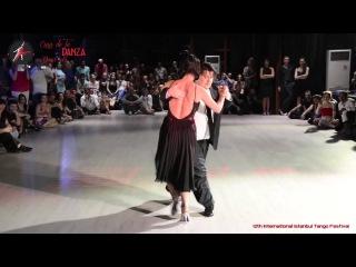Alejandra Mantinan & Aoniken Quiroga, 2-4, International Istanbul Tango Festival, 1-5 July 2015