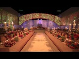 Video Mapping in Royal Wedding at Ritz Carlton Hotel, Doha by Olivier Dolz Wedding Planner