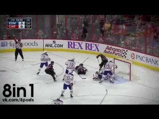 Топ-10 самых красивых голов Хоккей НХЛ сезон 2014-2015 / Top 10 most beautiful goals Ice Hockey NHL 2014-2015 season