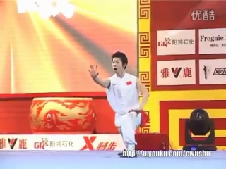 2013 King of Kings Chinese Wushu Competition finals Nan Quan Wang Xi Beijing