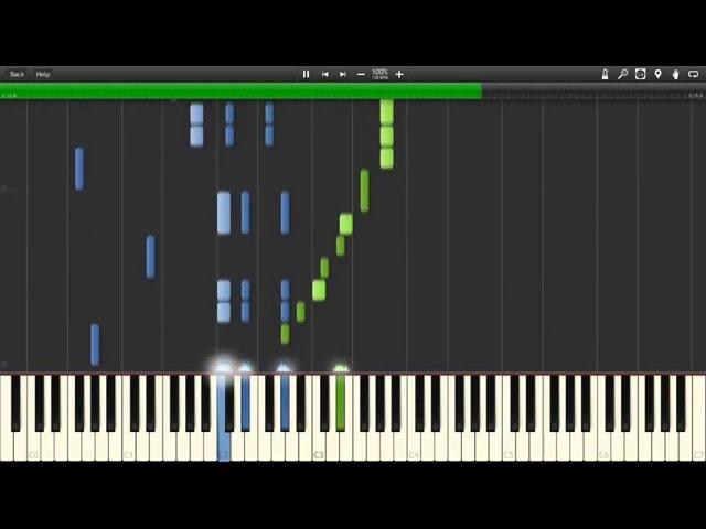 Сваты - Инструментальная Piano (Synthesia)