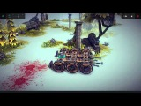 Прохождение Besiege #1 серия Три машины для разрушения