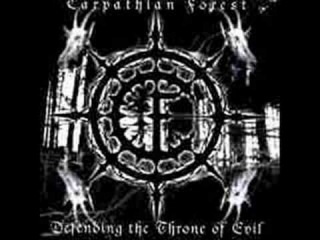 Carpathian Forest - The Well of All Human Tears