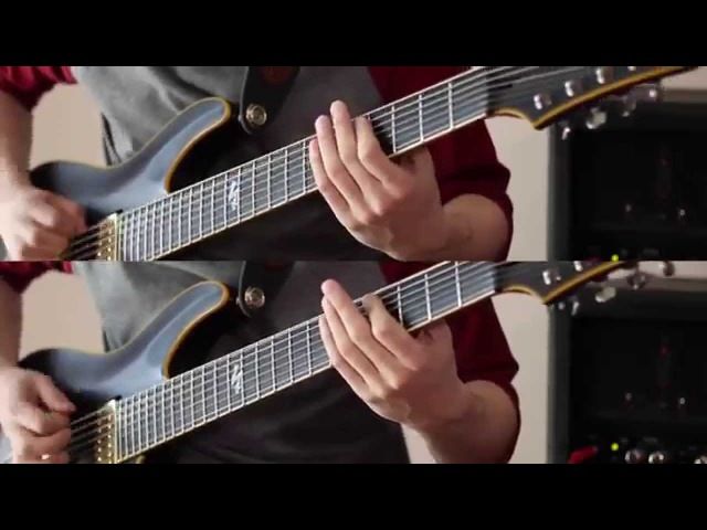 The Afterimage - O N Y X Guitar Playthrough