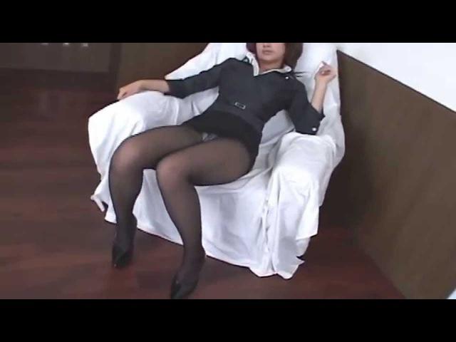 Японочка в колготках и миниюбке*** Sexy Japan girl