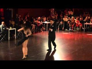 Julian Sanchez y Melina Mourino Roma Tango Festival