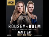 Ronda Rousey VS Holly Holm  (Ронда Роузи - Холли Холм) БОЙ 2 января