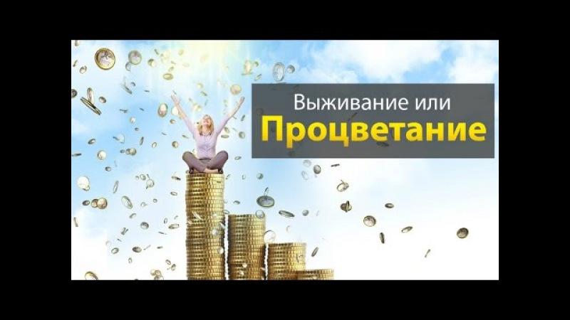 Биоэнергетика. Семинар Сергея Ратнера - Процветание или Выживание.